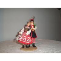 Кукла в национальном костюме. 14 см. Польша