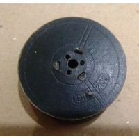 Довоенная катушка din 210 для ленты к печатной машинке (щечки картонные)