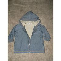 Брендовая  Стильная  курточка для малышей из Швейцарии
