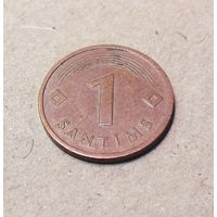 1 сантим 1992 Латвия #03