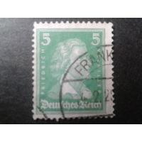 Германия 1926 Шиллер, поэт