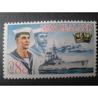 Новая Зеландия 1968 корабль, матросы Mi-3 евро