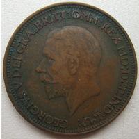 Великобритания 1/2 пенни 1928 г. (d)