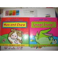 2 детские книги на английском языке