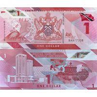 Тринидад и тобаго 1 доллар образца 2020(2021) года UNC