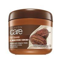 """Care Крем для лица и тела с маслом какао """"Питание"""" 400 мл"""