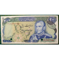 Иран 200 реалов 1979 год