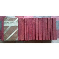 Полное собрание сочинений Джека Лондона в 24 томах (отсутствуют тома 7,8) Издательство Земля и Фабрика (ЗИФ) 1928-1929 г.г.
