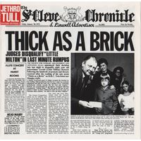 Jethro Tull - Thick As A Brick-1972,CD, Album, Reissue,Made in USA.