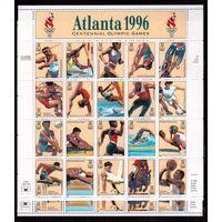 США-1996,(Мих.2705-2724) **  , Спорт,ОИ-1996