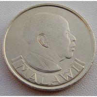 "Малави. 1 квача 1992 год  KM#20  ""Первый президент Малави = Камузу Банда"""