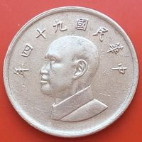 1 доллар 2005 ТАЙВАНЬ