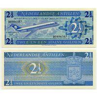 Нидерландские Антилы. 2,5 гульдена (образца 1970 года, P21, UNC)