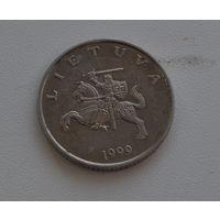 1 лит 1999 Литва  медно-никелевый сплав