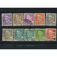 Дания 1948-55 Фредерик IХ Стандарт Все марки по 20 коп
