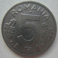 Румыния 5 леев 1993 г.