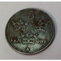 Швеция 5 эре 1942