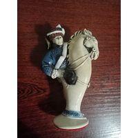 """""""Конь"""", шахматная фарфоровая статуэтка. из коллекции"""