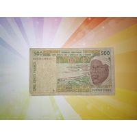 Кот д'Ивуар 500 франков