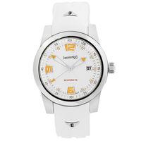 """Механические часы класса """"люкс"""" Eberhard & Co модель Scafomatic, редкое исполнение. Автоподзавод. Сапфир. Оранжевый люм. Новые."""