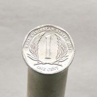 Восточно-Карибские Штаты 1 цент 2004