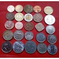 25 монеток без Европы и без повторов.  #16 Старт с 10 копеек.