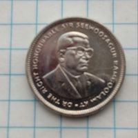 Маврикий 20 центов 2007г.