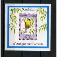 Антигуа и Барбуда 1984г, птицы, 1 блок.