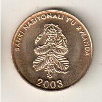 Руанда 5 франк 2003