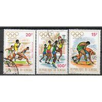 Спорт Сенегал 1972 год 3 марки