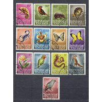 Фауна и флора. 1964. Республика Того. Серия 13 марок.