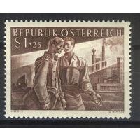 Австрия 1955 Mi# 1019 (MNH**)
