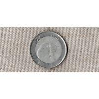 Алжир 10 динаров 2004 /фауна/птица//MY/