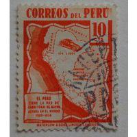 Перу.Автомобиль.карта.