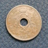 Бельгия. 10 сантимов 1925