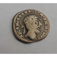 Редкий динарий Рима.