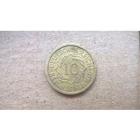 """Германия. 10 рейхспфеннигов. 1931""""A"""" (U-Б-1)"""