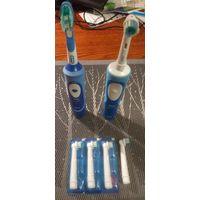 Электрическая зубная счетка Braun, насадка для элекрической щетки Oral B