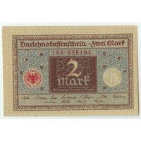 Германия, 2 Марки 1920 год, UNC-
