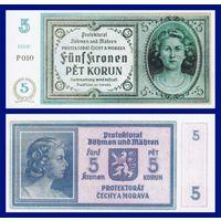 [КОПИЯ] Богемия и Моравия 5 крон 1940 г.