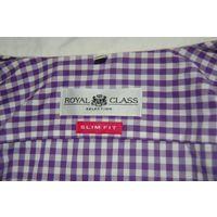Рубашка фирмы Royal для стильного парня приталена р.М