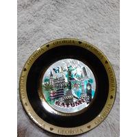 Грузия сувенирная тарелочка. BATUMI. распродажа
