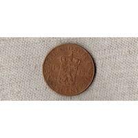 Нидерландская Голландская Индия 2 1/2 / 2,5 цента 1945 //(D)