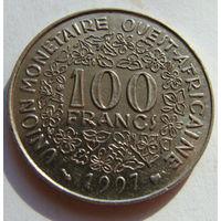 Западная Африка  100 франков 1997 г