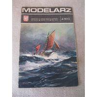 """Журнал """"MODELARZ"""" (""""МОДЕЛИСТ""""). Польская народная республика, 1973 год. Номера 4, 6, 7, 8, 9."""