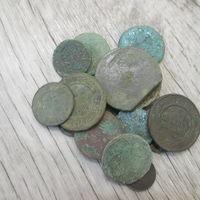 17 медных монет на опыты