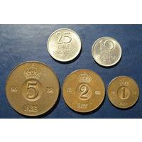 Швеция. Набор монет 2