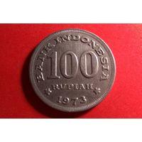 100 рупий 1973. Индонезия. Отличная!
