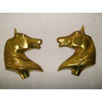 2 Фигуры лошадей  из бронзы. N 2