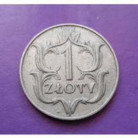 1 злотый 1929 Польша #02